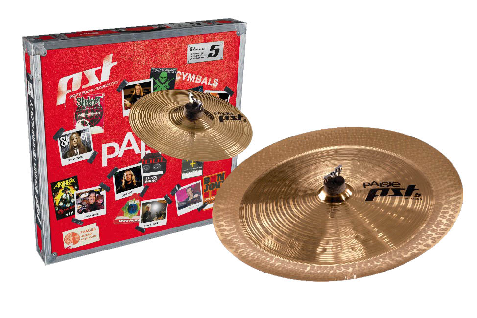 Paiste PST 5 Prepack Effects Pack 10-18 In Box