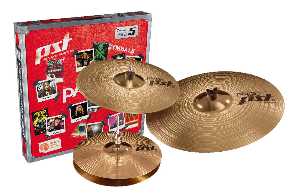 Paiste PST 5 Prepack Rock Set 14-16-20 In Box