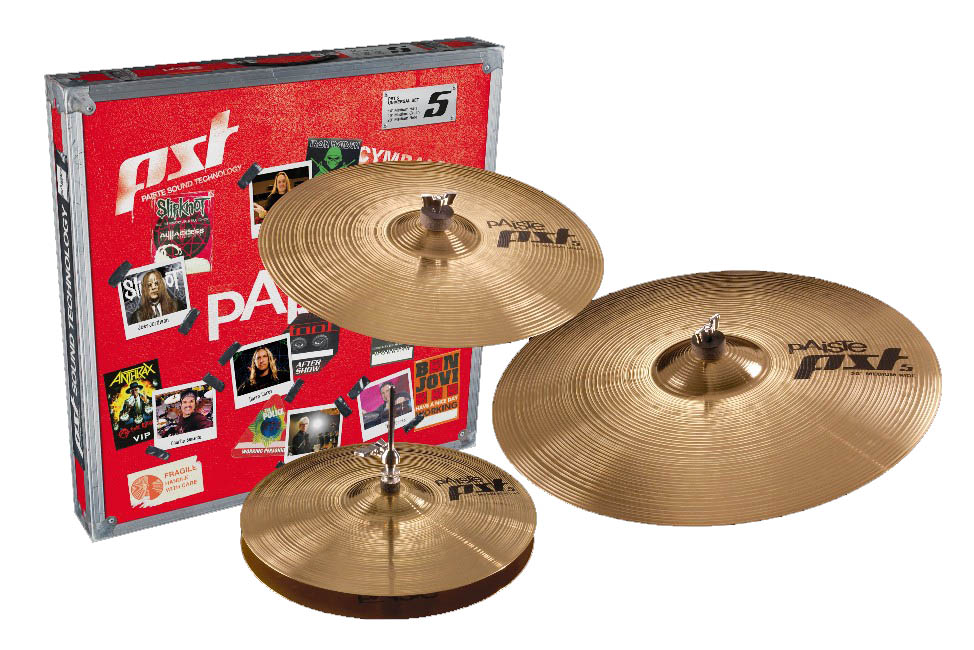 Paiste PST 5 Prepack Universal Set 14-16-20 In Box