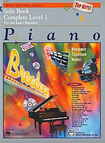 Alfred's Piano Solo Book 1 compleet