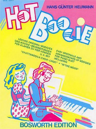 Hot Boogie for Piano Duets