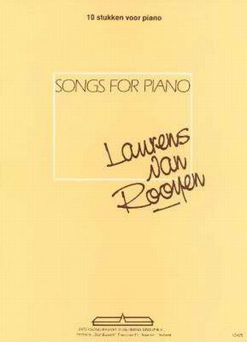 Songs for Piano  Laurens van Rooyen