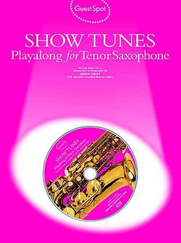 Show Tunes +cd - playalong for alto saxophone