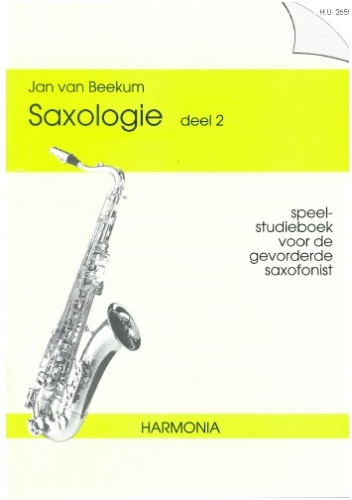 Saxologie deel 2 - Jan van Beekum