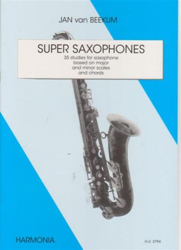 Super Saxophone - Jan van Beekum
