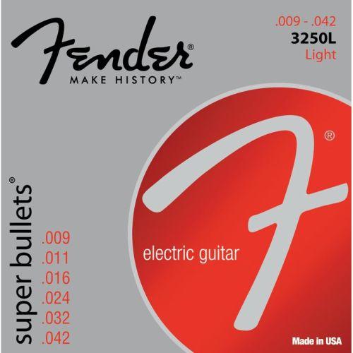 Fender 3250L .009-.042 drie sets aanbieding
