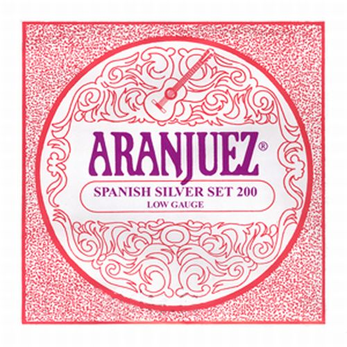 Aranjuez Classic Silver Set 200 Low Gauge 2=3