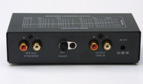 TCC TC-750 Professional Moving Magnet Preamp