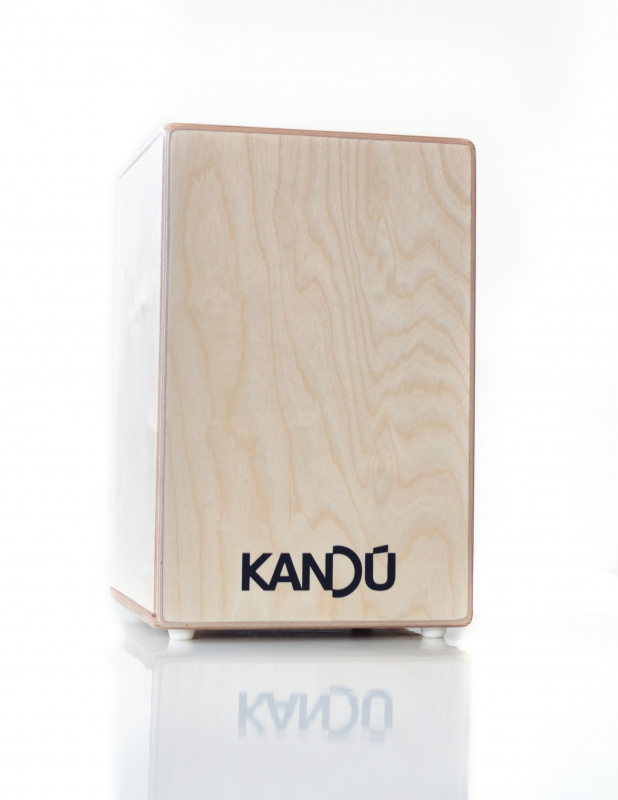 Kandú Cajon: Flame Wood
