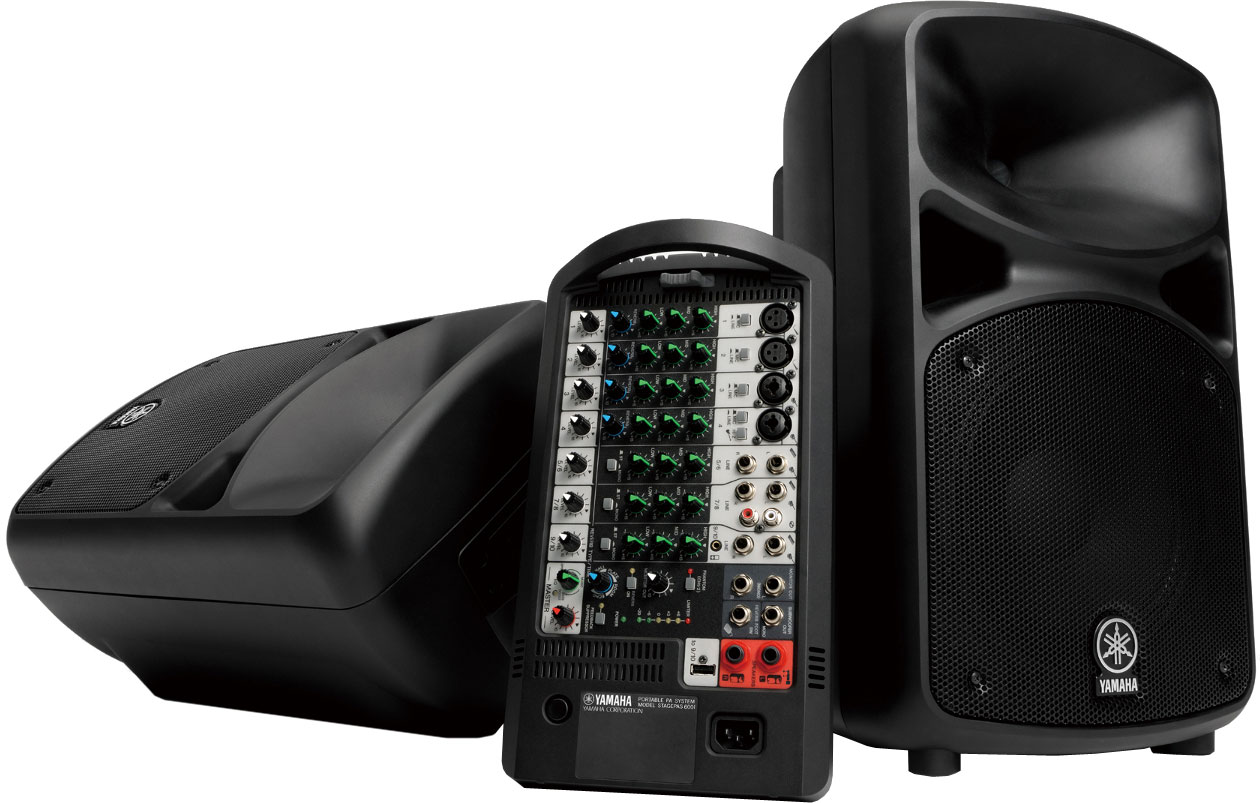 Yamaha Stagepas 600i geluidsset