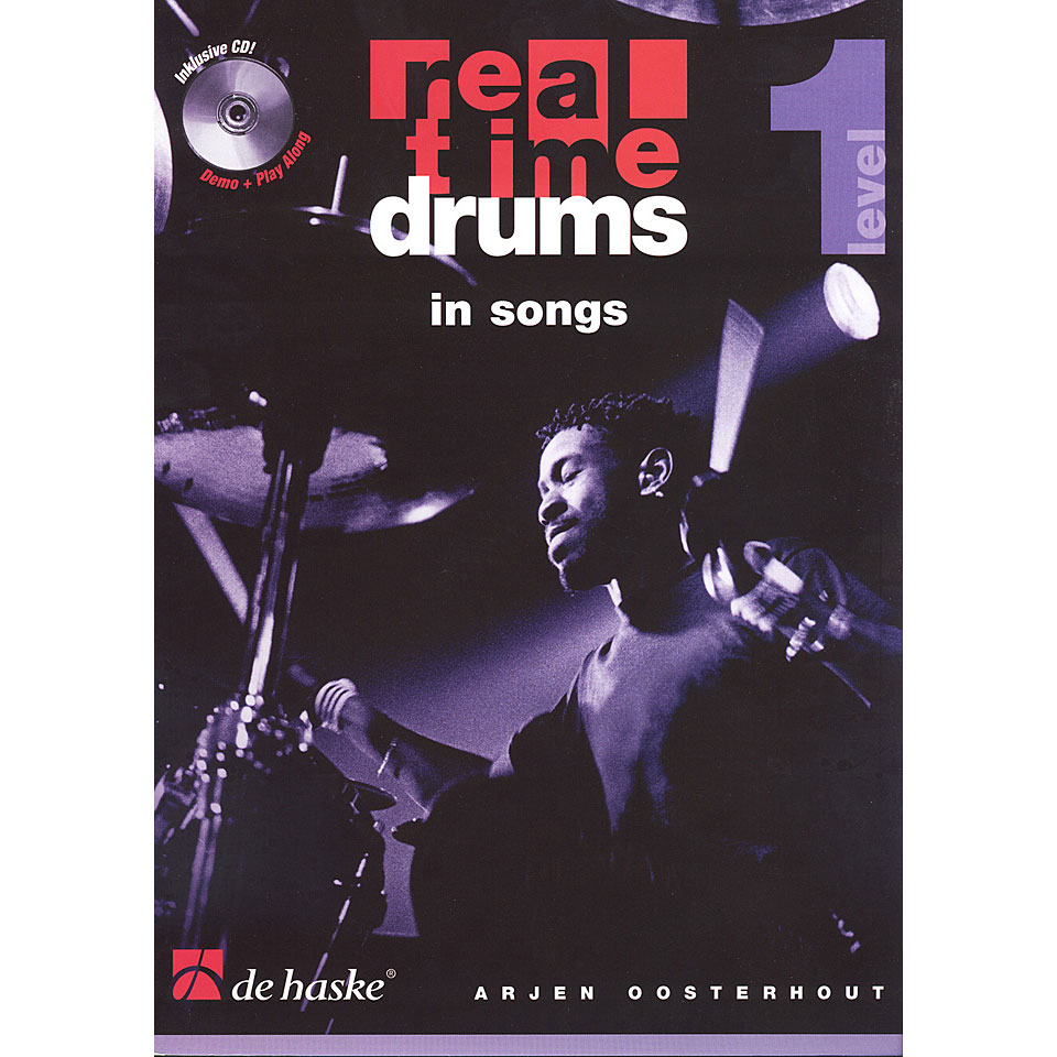Real Time Drums In Songs Level 1 + CD