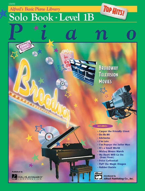 Alfred's Piano Solo Book 1B