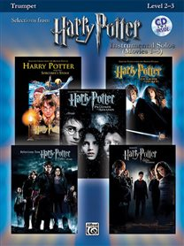 Harry Potter Instrumental Solo's Movies Trompet 1-5 + CD