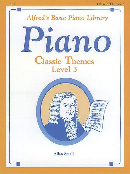 Alfred's Basic Piano Library Classic Themes Book 3