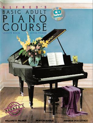 Alfred's Basic Adult Piano Course Lesson Book 3 + CD