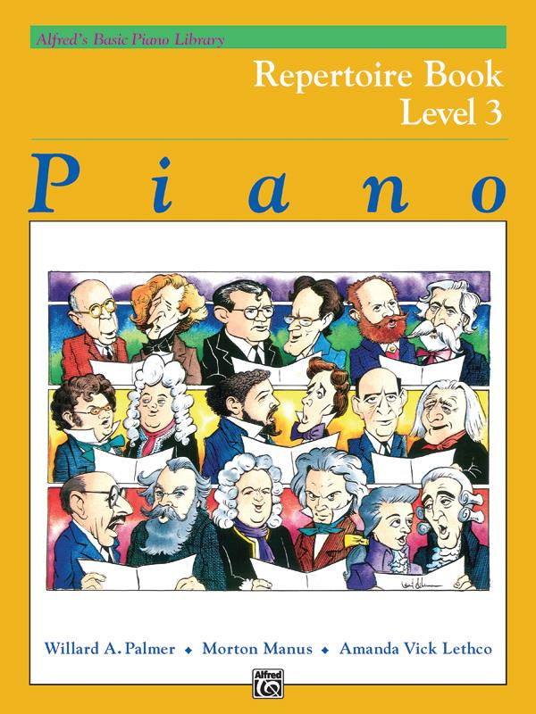 Alfred´s Basic Piano Library Repertoire Book 3