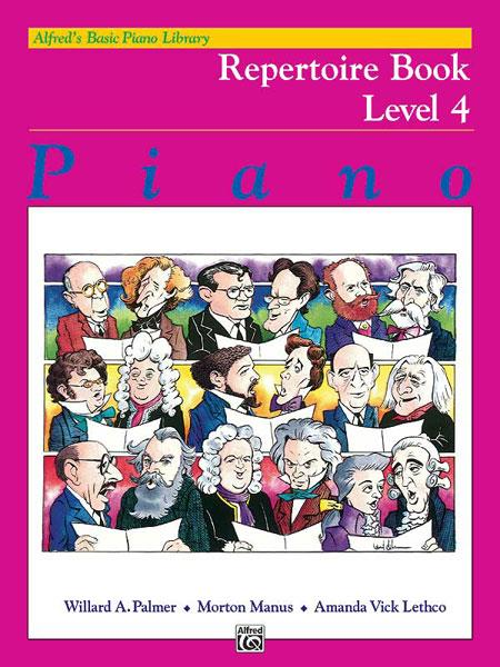 Alfred´s Basic Piano Library Repertoire Book 4