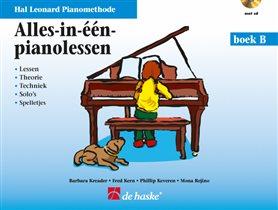 Alles in één pianolessen - Deel B (+CD)