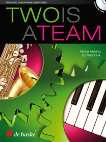 Two is a Team - Altsaxofoon & Piano (+CD)
