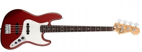 Fender Standard Jazz Bass rw/car