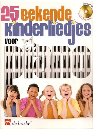 25 bekende kinderliedjes voor piano + cd