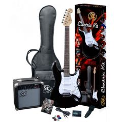 SX elektrische gitaar starter pakket