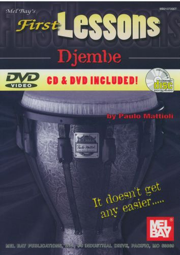 First Lessons Djembe +cd & dvd