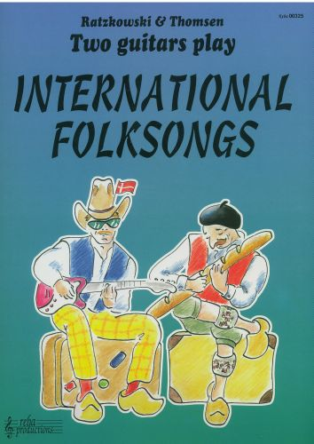 Two guitars play International Folksongs