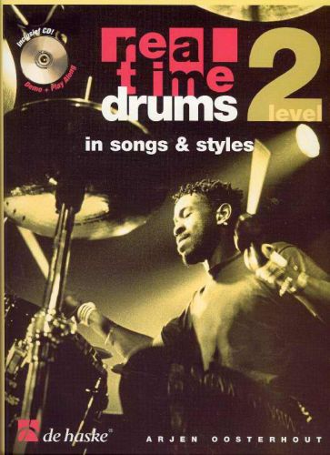Real time drums in songs & styles Level 2 +cd