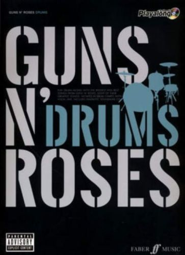 Guns N' Roses Drums +cd