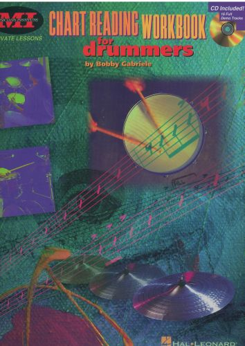 Chart Reading workbook for drummers +cd