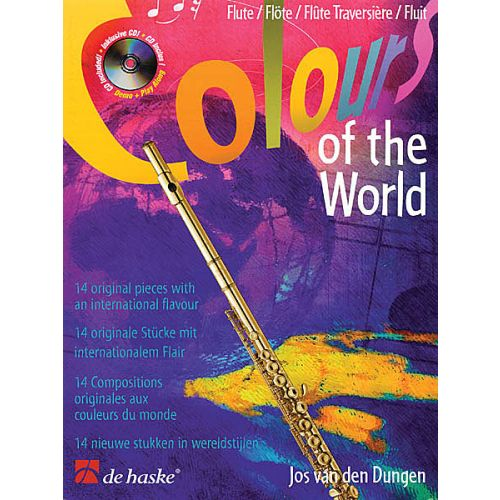 Colours of the World +cd - Fluit Dungen