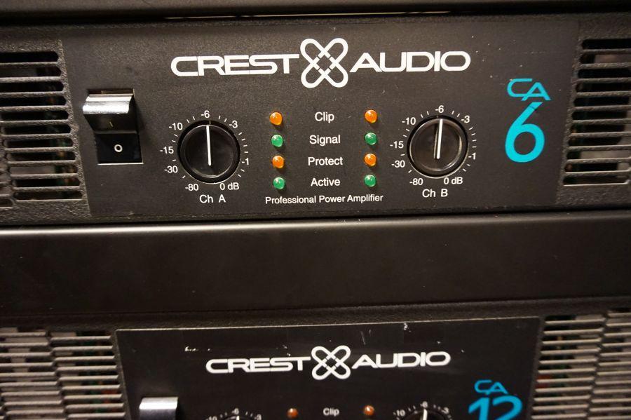 Crest CA6 versterker (occ.)