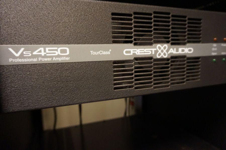 Crest VS450 versterker (occ.)