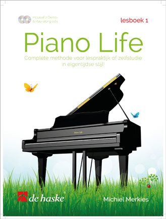 Piano Life lesboek 1 - Merkies