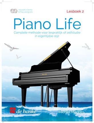 Piano Life lesboek 2 - Merkies