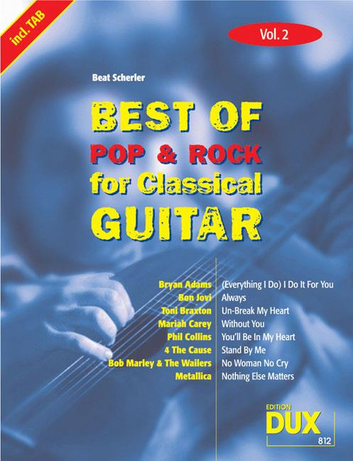 Best Of Pop & Rock 02 for Classical guitar