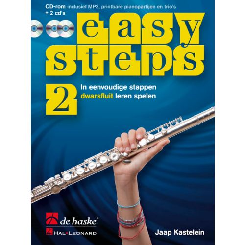 Easy steps 2 dwarsfluit +cd - kastelein
