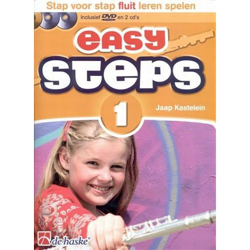 Easy steps 1 fluit +cd - Jaap Kastelein