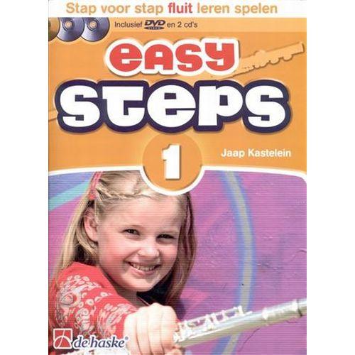Easy steps 1 fluit +cd - Jaap Kastelein