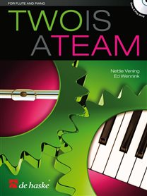Two is a Team - Fluit & Piano (+CD)
