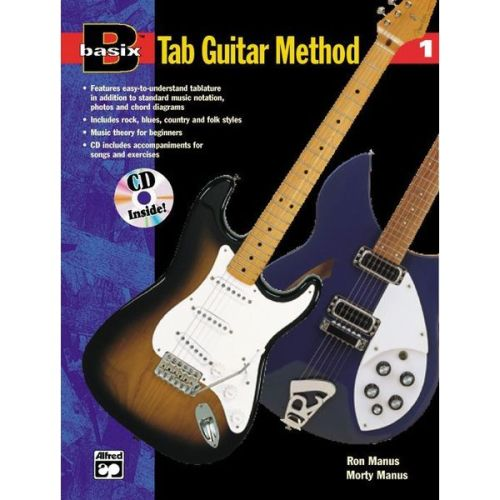 Basix Tab Guitar Method 1 +cd