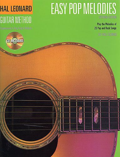 Hal Leonard Guitar Method: Easy Pop Melodies (CD versie)