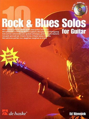 10 Rock & blues solo's for Guitar