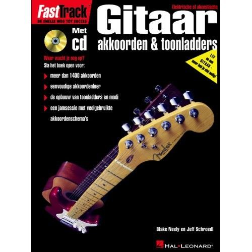 Hal Leonard Fast Track Gitaar 1 +cd