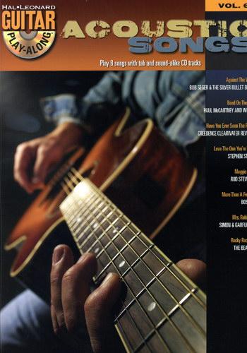 Hal Leonard Guitar play along vol. 69 acoustic songs +cd