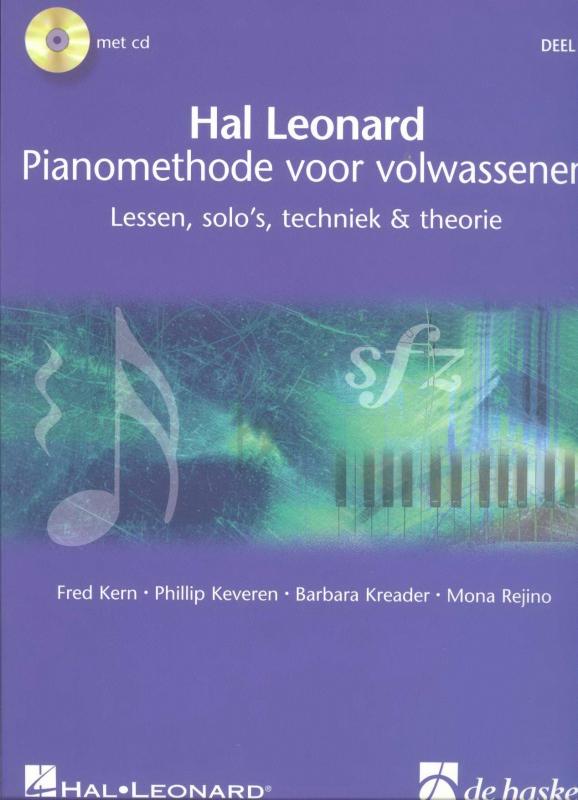Piano methode voor volwassenen deel 1- Hal Leonard
