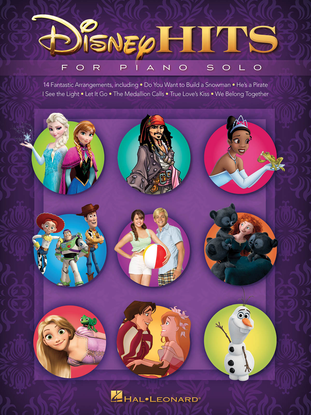 Disney Hits for Piano Solo