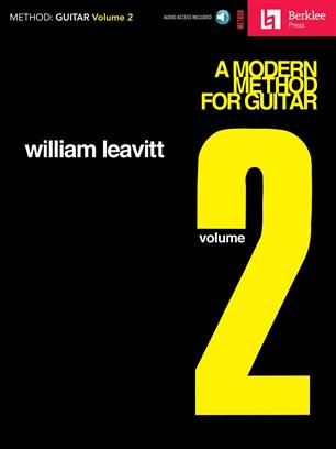 A Modern Method for Guitar vol. 2 William Leavitt