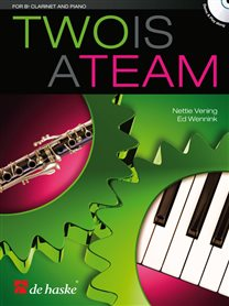 Two is a Team - Klarinet & Piano (+CD)
